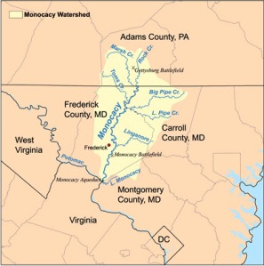 Monocacy Watershed Area