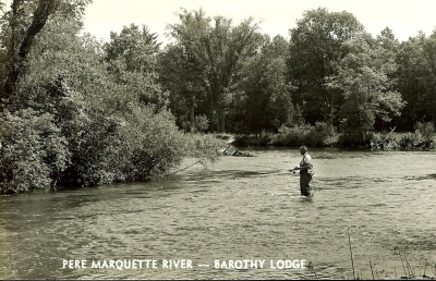 Barothy Lodge on the Pere Marquette River