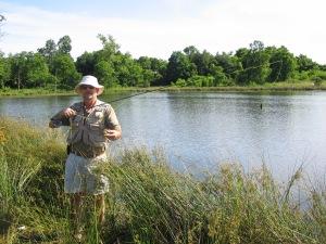 Flyfishing at Green Pond Park
