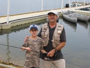 Fishng with Bob & Jonah Aug. 2009 005
